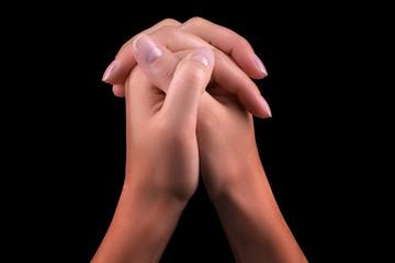 Two hands praying