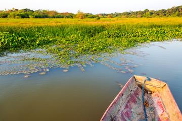 Canoe and Lakeshore