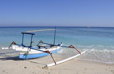 Indonesia. Isola di Gili Meno