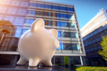 .Piggybank in Financial District