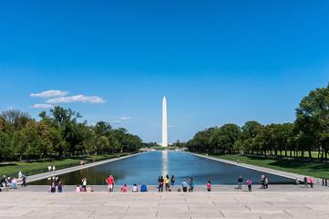 Washington Monument und Pool