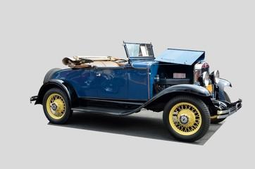 Vintage 1930 convertble car