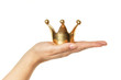 Leinwanddruck Bild - Der Kunde ist König