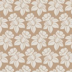 Abstract seamless pattern - art nouveau