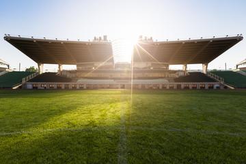 old soccer stadium