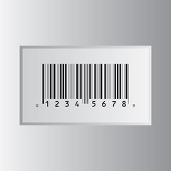 Illustration of an Isolated Barcode