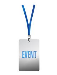 event pass illustration design