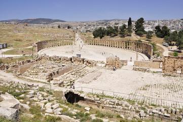Giordania. Jerash il foro