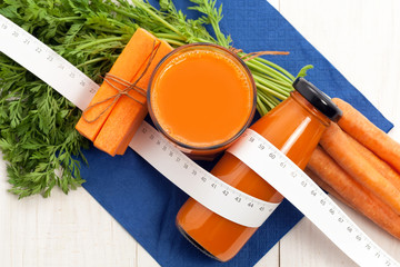 Carrot juice for dieting