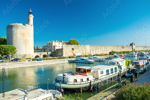canvas print picture Aigues-Mortes en France