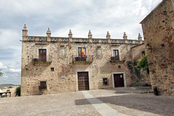 Museo arqueológico palacio de las Veeltas, cáceres, España