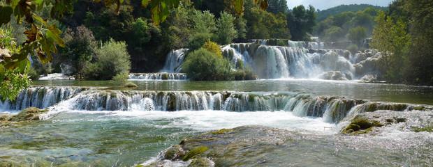 Chutes d'eau et lacs de Croatie