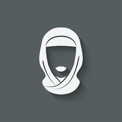 Arabic woman avatar