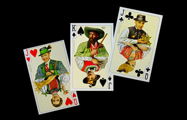 Spielkarten - Trachtenverein