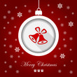 Greeting card, Merry Christmas