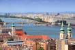Budapest aerial view
