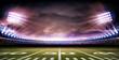 Leinwandbild Motiv stadium american