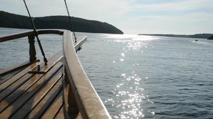 Bootsfahrt auf dem Limfjord, Kroatien