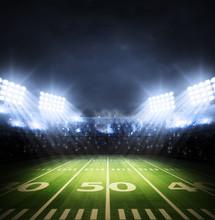 Amerikanischer Fußball-Stadion