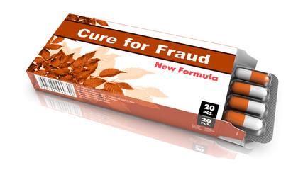 Cure for Fraud - Blister Pack Tablets.