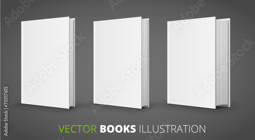 Three vector books - 70317615