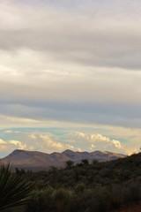 Sunset Near Blue Diamond Nevada