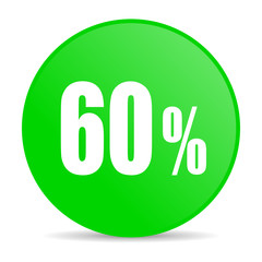 60 percent internet icon