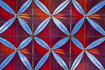 Sevilla, pétalos, flores, formas, cubierta, arquitectura