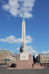 Monument  in Riga