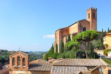 Basilica in Siena