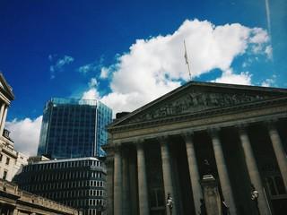 Zona finanziaria di Londra