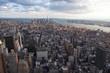 canvas print picture - New York von oben