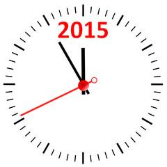 2015 Sylvester Silvester Uhr  #140917-svg10