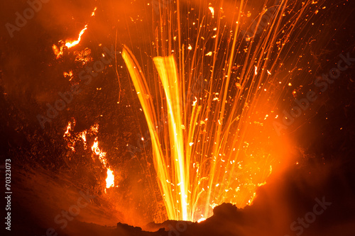 Volcano Yasur Eruption - 70323073