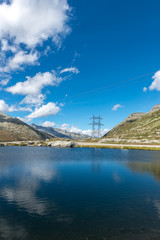 Lake Saint Charles, Gotthard Pass, Canton of Ticino (Swizerland)