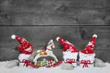 Karte als Gutschein oder Geschenkgutschein zu Weihnachten