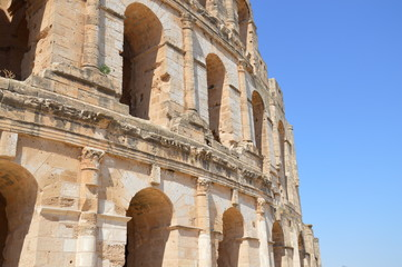 Colosseum in Tunisia