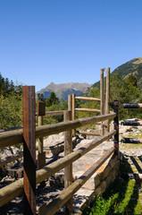 Mountain gangway