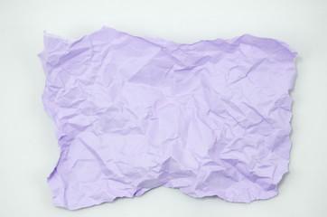 Crumpled Color Paper