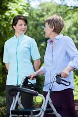 Professional medical care at nursing home