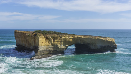 London Arch at Port Campbell National Park on the great ocean ro