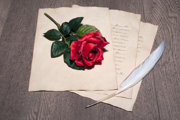 carta romantica