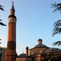 Gün Batiminda Tarihi Cami