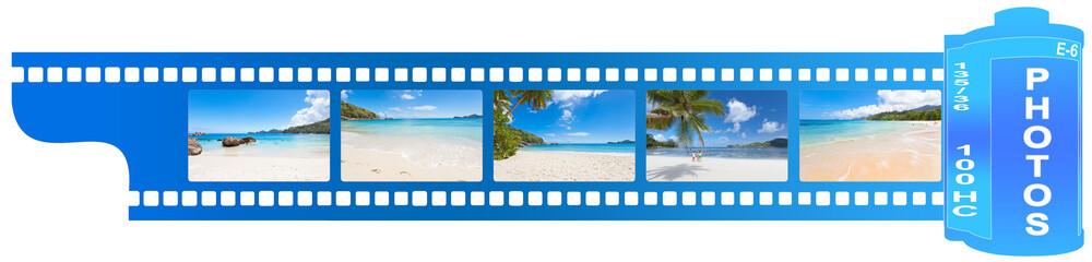 pellicule de film photos Seychelles