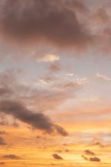 東京の夕焼け空
