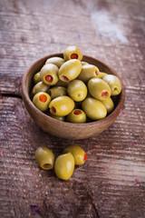 Appetizing olives