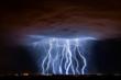 Leinwandbild Motiv Tucson Lightning Composite