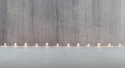 Kerzen minimalistisch
