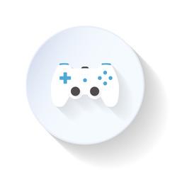 Gaming joystick flat icon
