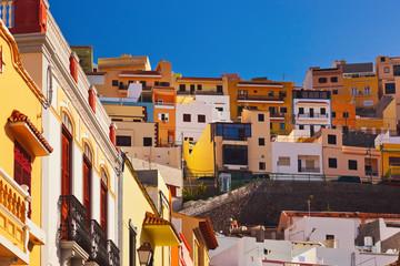 Town San Sebastian - La Gomera Island - Canary